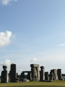 Stonehenge - one of the highlights of our first home exchange trip