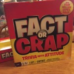 Fact or Crap - boardgame name of the year so far