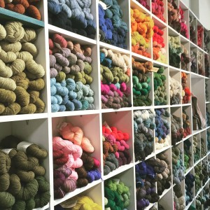 A Verb For Keeping Warm - a fabulous yarn shop in Oakland, California