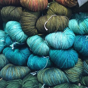 Gorgeous Madelinetosh yarn at A Verb For Keeping Warm in Oakland,California