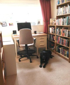 Workspace of author Chris Ewan