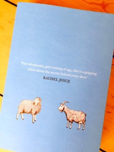 The Trouble with Goats and Sheep by Joanna Cannon - proof copy.