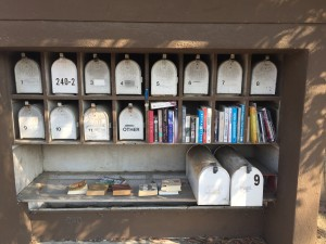 Mailboxes in Sausalito