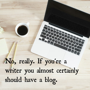 Nine reasons why authors should have a blog.