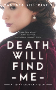 Cover image Death Will Find Me by Vanessa Robertson